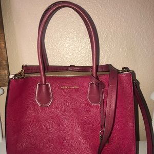 Michael Kors pink two toned purse